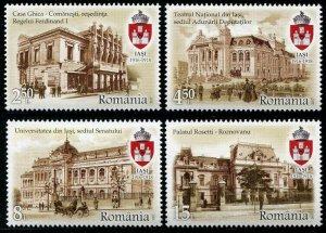 HERRICKSTAMP NEW ISSUES ROMANIA Sc.# 5938-41 Iasi City