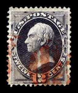 US.#151 .12c Used National Bank Note of 1870 - F/VF - CV$155.00 (ESP#6392)