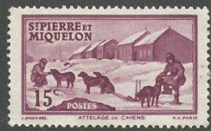 St. Pierre & Miquelon Scott 177  MNH