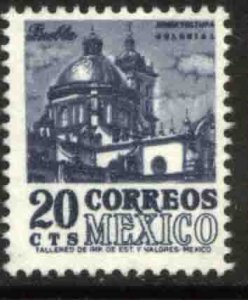 MEXICO 946, 20¢ 1950 Definitive 5th Printing wmk 350. MINT, NH. VF.