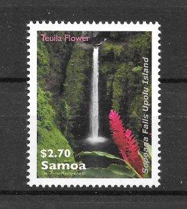 Samoa MNH 1154 Sopoaga Water Falls SCV 2.25