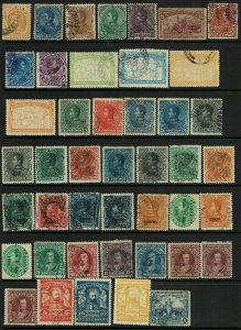 Venezuela 44 Mint and Used, some faults - G108