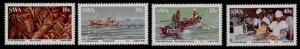 South West Africa 516-9 MNH Lobster Industry, Boats