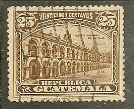 Guatemala      Scott 203     National Palace         Used