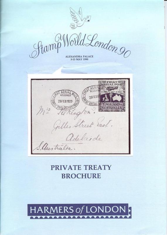 Harmers:    Stamp World London 90: Private Treaty Brochur...