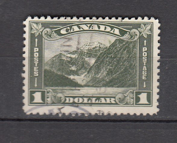 J26210  jlstamps 1930-1 canada used #177 mt edith