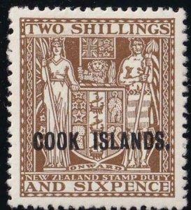 Cook Islands 1936 SC 103 MLH