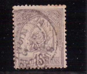 Tunisia  Scott#  16  Used