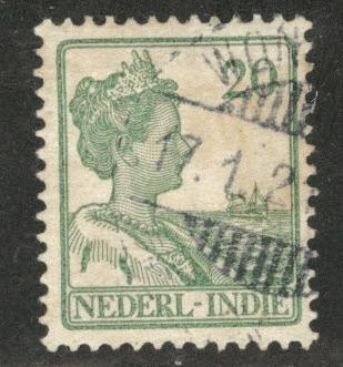 Netherlands Indies  Scott 123 used  from 1912-20 set