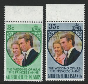 Gilbert and Ellice Islands Sc#216-217 MNH