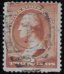 U.S. Stamp SC 210, used