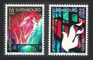 Luxembourg Europa National Festivals 2v SG#1473-1474