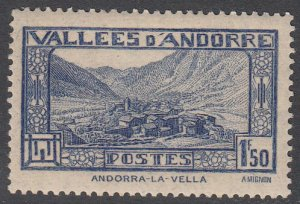 French Andorra 53 MVLH CV $25.00