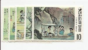Korea 781-785 MNH