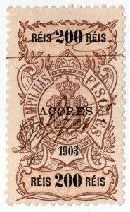 (I.B) Portugal Revenue : Stamp Duty 200R (Azores)