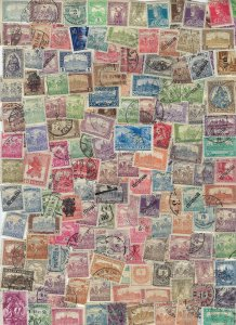 HUNGARY- ACCUMULATION ABOUT 2000 STAMPS (ALMOST HALF LB.) MOST USED/CANCELED