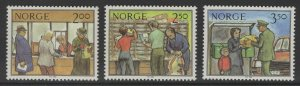 NORWAY SG926/8 1984 POSTAL WORK MNH