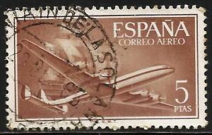 Spain Air Mail 1955 Scott# C155 Used