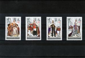 Turks & Caicos 1978 British Monarchs Set(4) MNH VF Sc#342/5