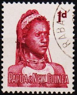 Papua New Guinea. 1961 1d S.G.28 Fine Used