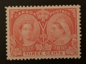 Canada #53 XF Mint H Jubilee - The ultimate Centering