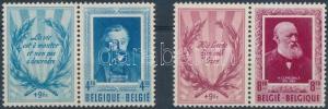 Belgium stamp Writers coupon set MNH 1952 Mi 947-948 WS190529