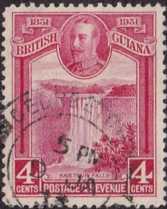 British Guiana #207 Used