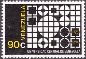 Venezuela # 1147 used ~ 90¢ University Emblem