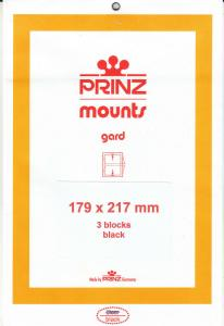 PRINZ BLACK MOUNTS 179X217 (3) RETAIL PRICE $10.50