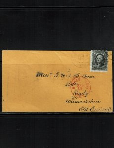 Scott #69 VF/Fine used on cover.