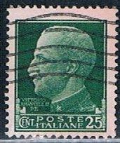 Italy 218, 25c Victor Emmanuel III, used, VF