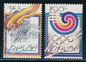 Aruba - Seoul Olympic Games MNH Sports Set (1988)