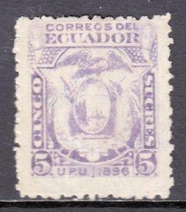 Ecuador - Scott #62 - MNG - SCV $14