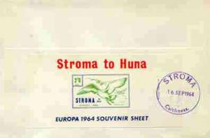 Stroma 1964 Europa imperf m/sheet 2s6d (Herring Gull) on ...
