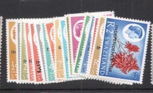Swaziland SG 142-58 MNH (1dfe)