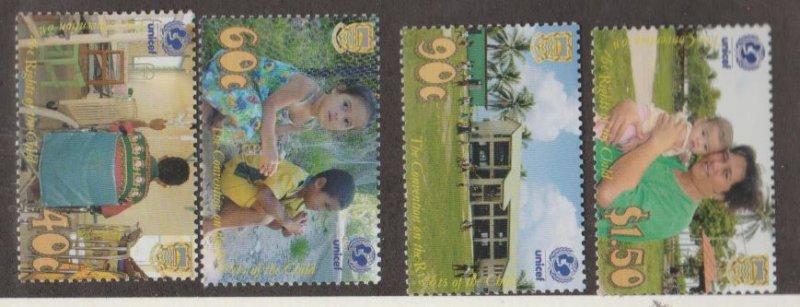 Tuvalu Scott #882-885 Stamps - Mint NH Set