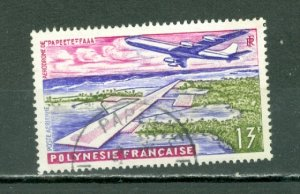 FRENCH POLYNESIA AIRPORT #C28...USED...$2.40