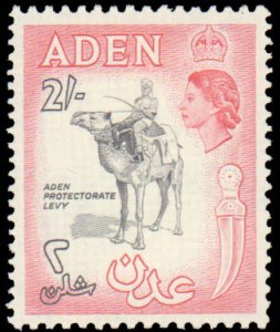 Aden #66-75, Complete Set(10), 1964-1965, Hinged