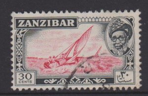 Zanzibar Sc#254 Used