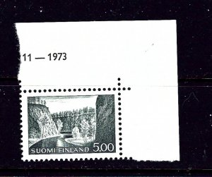 Finland 415 MNH 1963 issue; hinged in selvedge