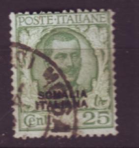 J19946 Jlstamps 1926 somalia used #87 ovpt