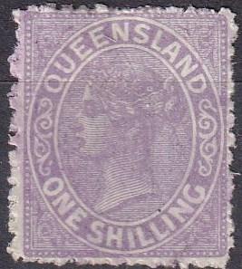 Queensland #70 F-VF  Used CV $11.00  (A19135)