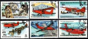 British Antarctic Territory #224-9  F-VF Used CV $17.00 (X774)