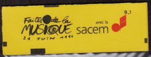 FRANCE MNH Scott # 2187 Gum - Complete Booklet (10 Stamps) -2