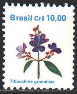 Brazil. 1990. 2352. Tibuhina Granular, tree of glory. MNH.