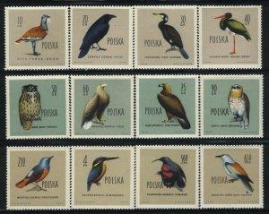 Poland MNH Scott 935-46 Michel 1197-08 Birds