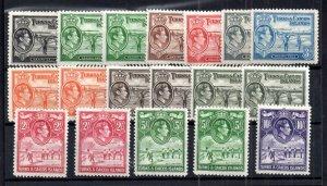 Trinidad & Tobago 1938 mint MH set SG194-205 WS15115