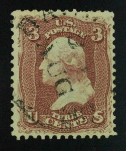 MOMEN: US STAMPS #65 USED LOT #54341