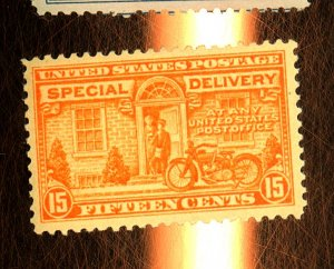 E13 MINT F-VF OG NH Slight Toning Cat $75