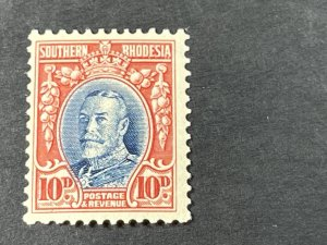 SOUTHERN RHODESIA # 25a-MINT/NEVER HINGED---SINGLE---1933